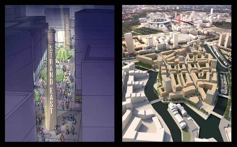 Strand East - outline masterplan approved - Continuing the Olympic Legacy