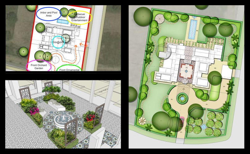 Sukh-Chayn Gardens - Design approved for first project in lahore pakistan